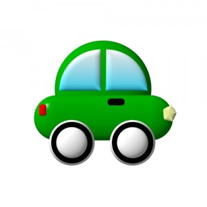 green-car