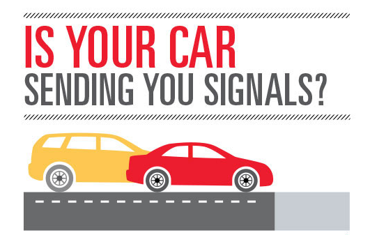 Is Your Car Sending You Signals? [Infographic]